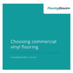 Improve employees morale, choose commercial vinyl flooring