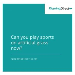 Artificial Grass can accommodate sports matches.