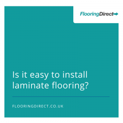 Is it easy to install laminate flooring?