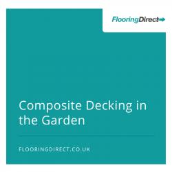 composite decking in the garden banner