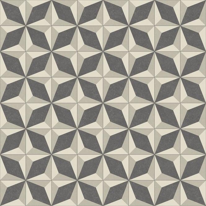 Lifestyle baroque vinyl flooring faro 919 for Patterned linoleum tiles