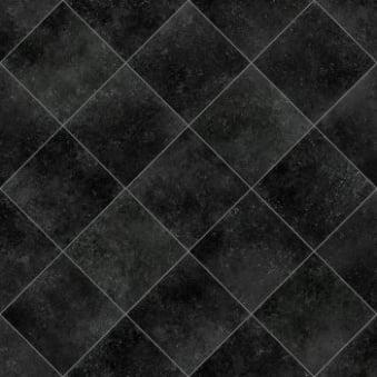 Tile effect vinyl flooring flooring direct for Black tile effect vinyl flooring