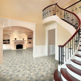 Brooklyn New York Grey Vinyl Flooring