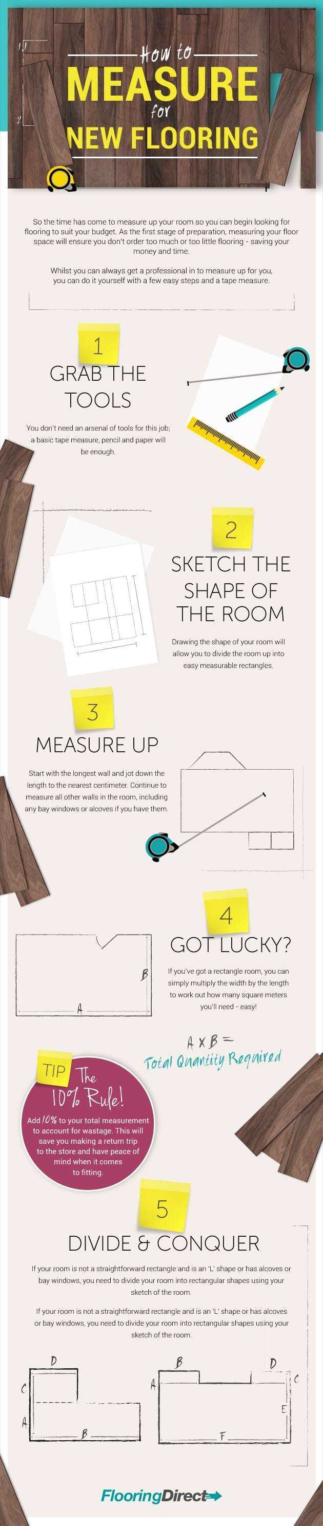 How To Measure For New Flooring