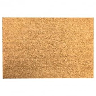 Coir Door Mat Natural Plain