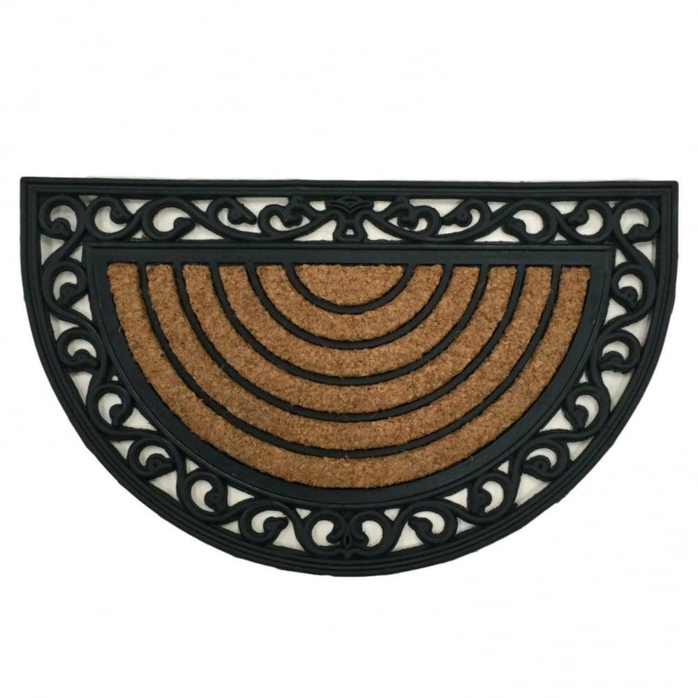 Coir Door Mat Discus Coconut Entrance Door Mat