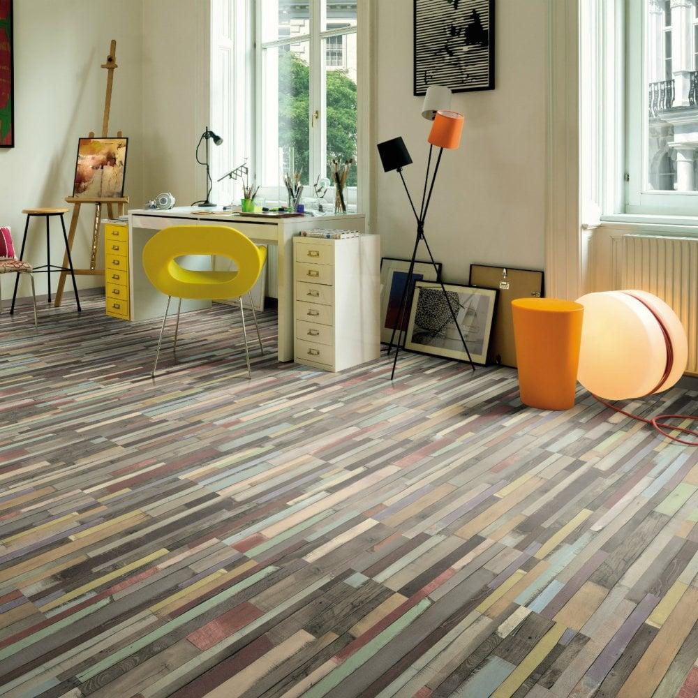 Egger Coloured Dimas Wood 7mm Laminate, Multi Colored Laminate Flooring