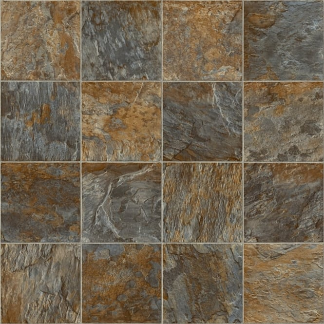 Bronze slate vinyl flooring quality lino flooring direct for Lino flooring wood effect