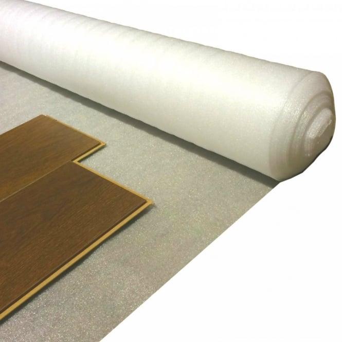 Acoustic White Foam 2mm Laminate Wood Floor Underlay 1