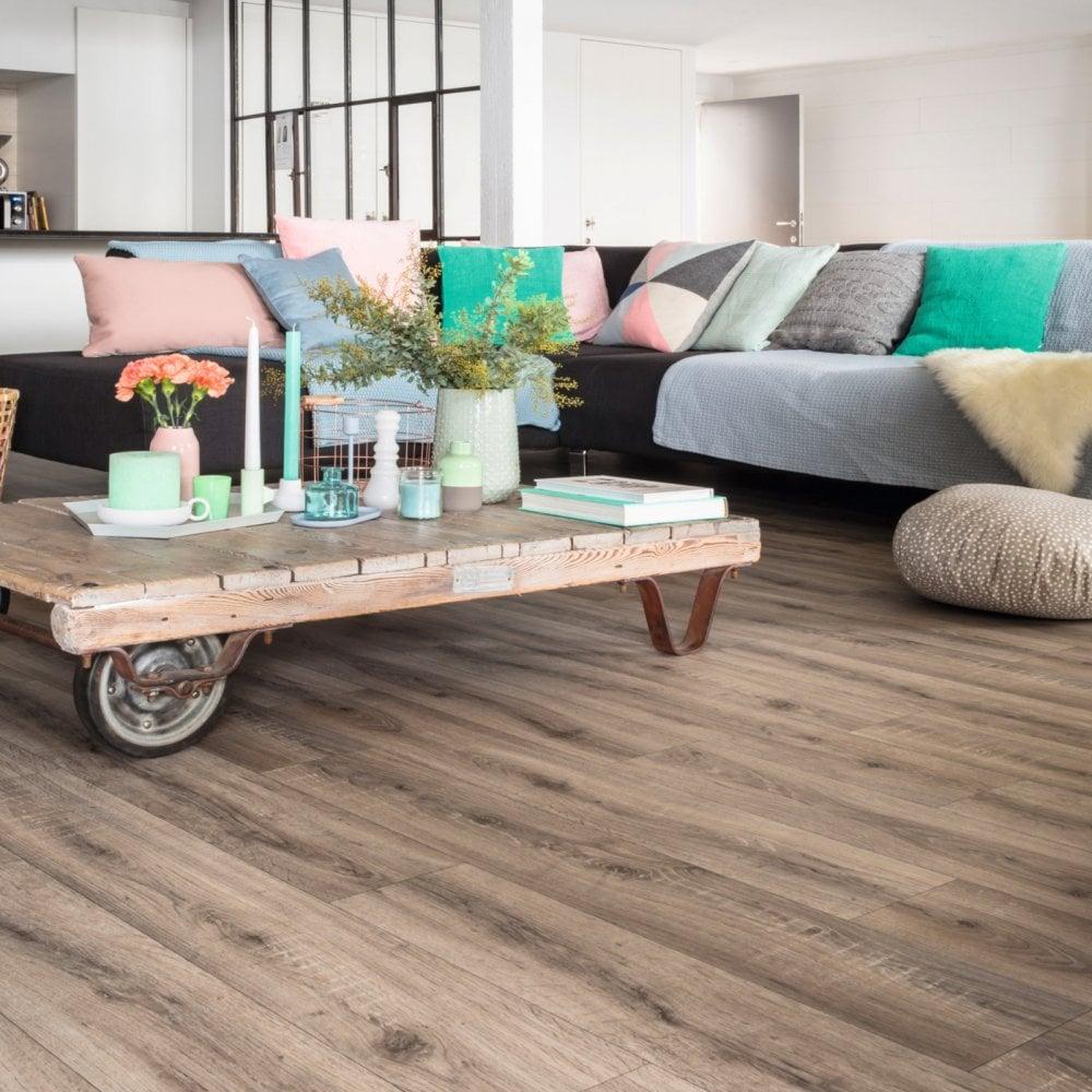 Enterprise Oak Luxury Wood Vinyl, Lino Flooring In Living Room