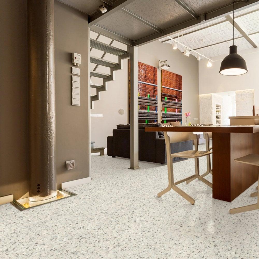 Terrazzo Style Flooring Modus 91 Leoline Vinyl Lino Floors
