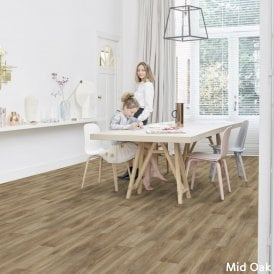 vinyl floor in the kitchen