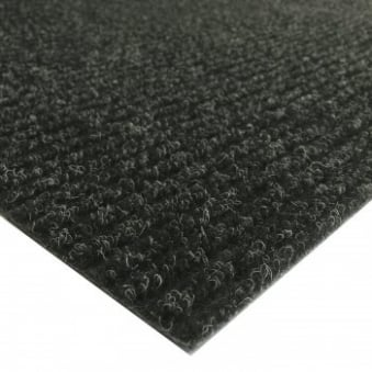 Antracite Ribbed Matting