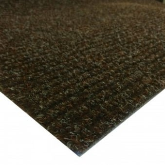 Brown Ribbed Matting