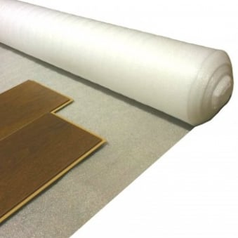 Comfort White acoustic underlay 2mm