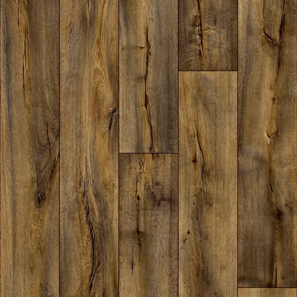 Hercules Ed Oak Dark Vinyl Flooring
