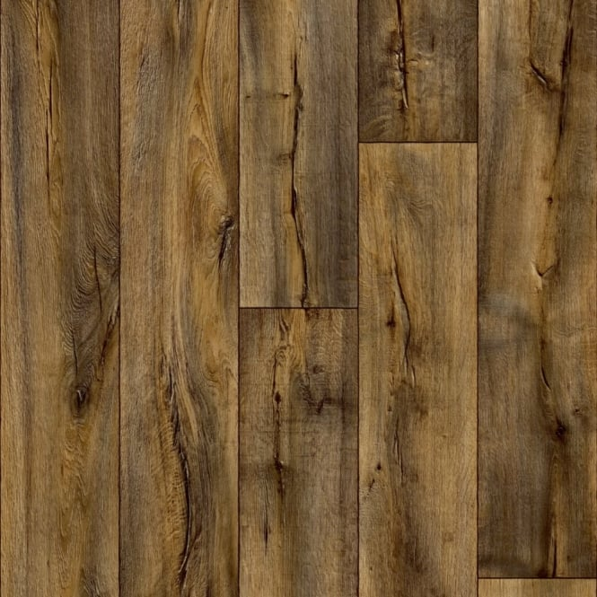 Cracked dark oak vinyl flooring quality lino flooring for Hercules laminate flooring