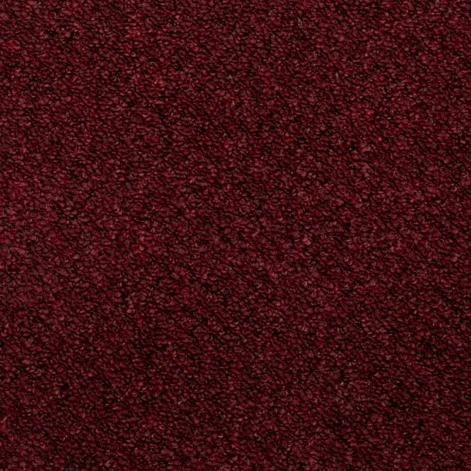 Flooring Direct Pioneer Berber Loop Pile Carpet Burgundy