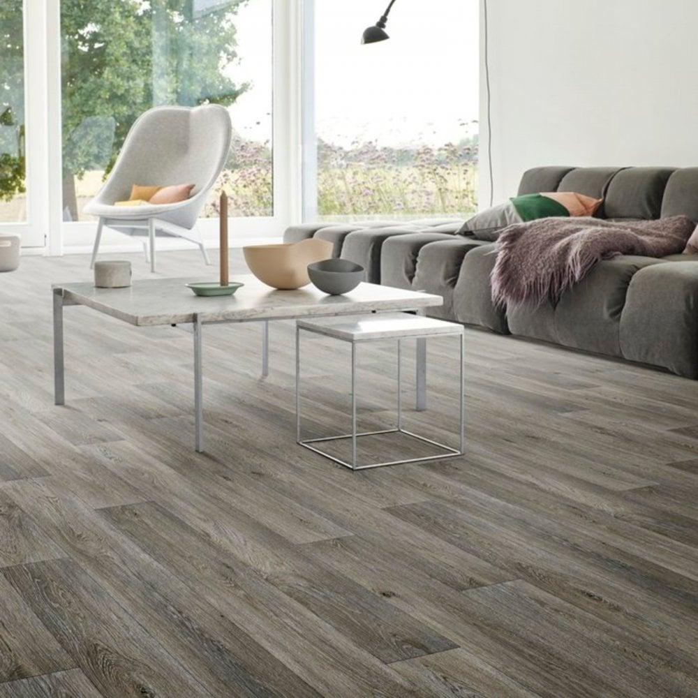 Havanna Grey Oak Vinyl Flooring, Lino Flooring In Living Room