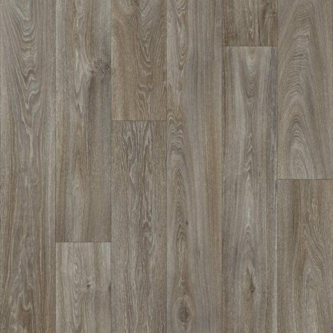 Havanna grey oak vinyl flooring quality lino flooring for Oak effect lino flooring