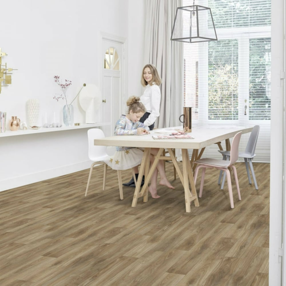 Lifestyle Floors Lifestyle Long Island Yonkers Mid Oak 4mm Vinyl Flooring  ...