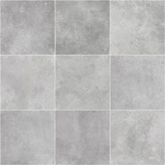 Pacific Grey Tile Vinyl Flooring