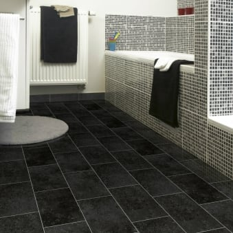 Pacific Kent Black Vinyl Flooring