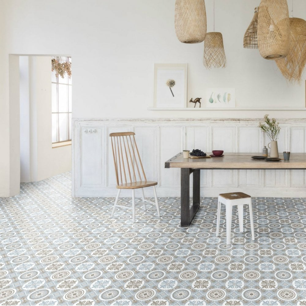 Victorian Tile Vinyl Flooring, Moroccan Vinyl Flooring Roll