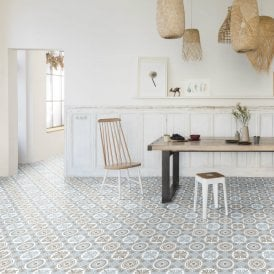 Cream Vinyl Flooring Perfect For Bathrooms And Kitchens