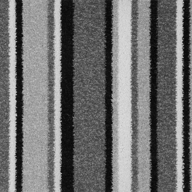 Stripey carpet pop art modern stripe carpet free delivery for Black and white patterned carpet