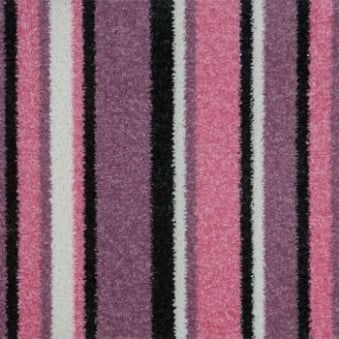 Pop Art Striped Carpet Rose