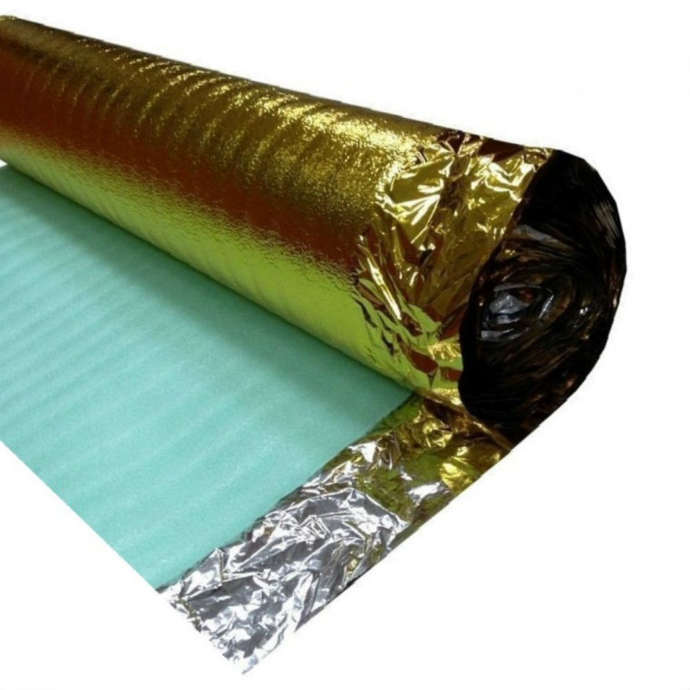 Acoustic Gold 3mm Foam Underlay For Laminate And Wood Floors