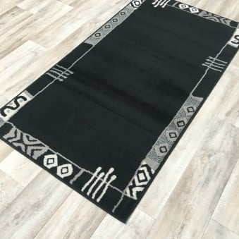 Shiraz Black Grey Border 1159 HO11
