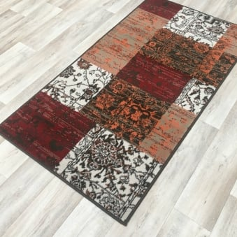 Shiraz Warm Red Patchwork 1569 SO22