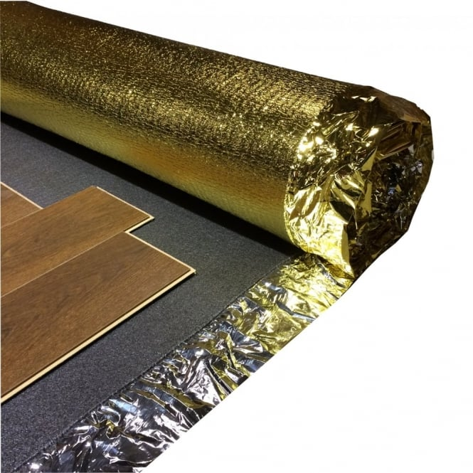 Sonic Gold 5mm Underlay Sound Absorption Amp Heat