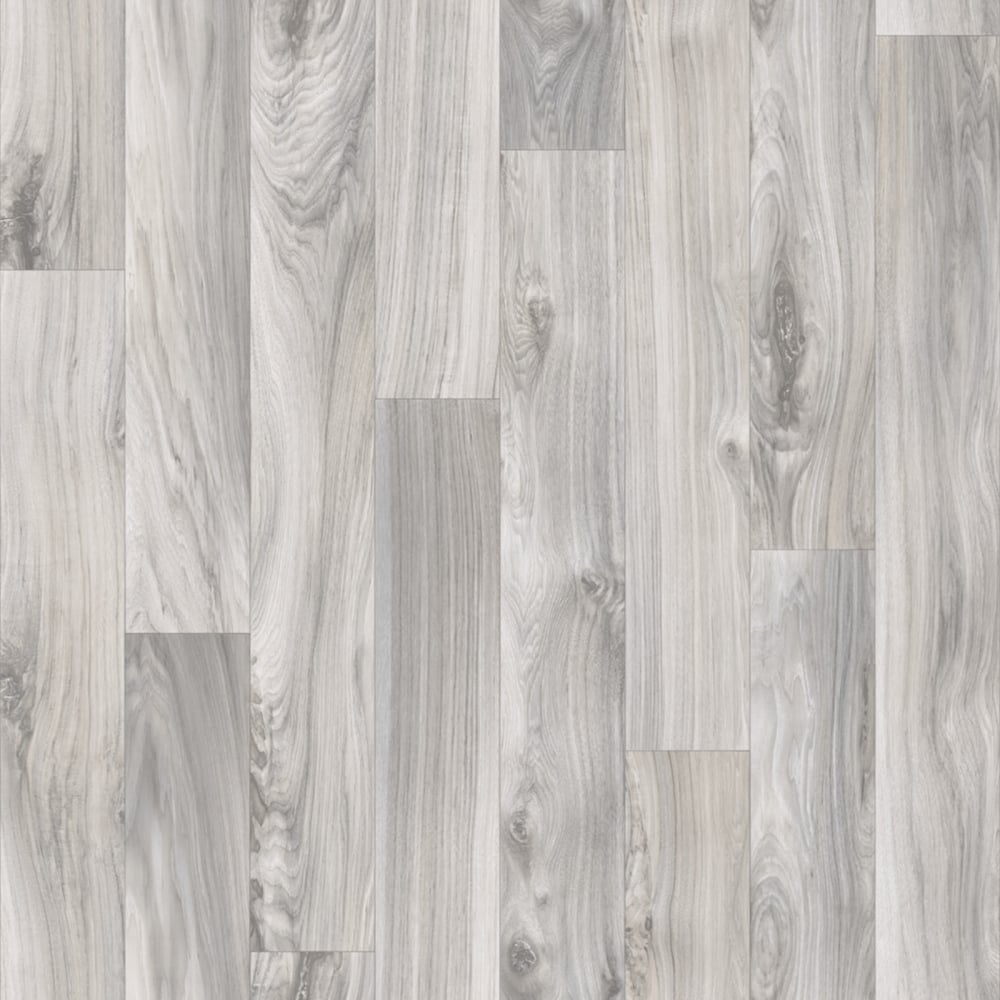 Heavy Duty Vinyl Flooring 4 5mm Thick Grey Wood